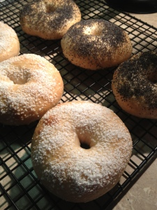 Finished Bagels